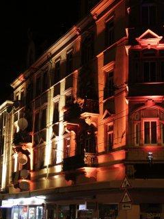 Lichtinstallation Mittelstraße